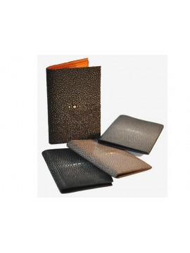 Shagreen credit card holder/billfold big size